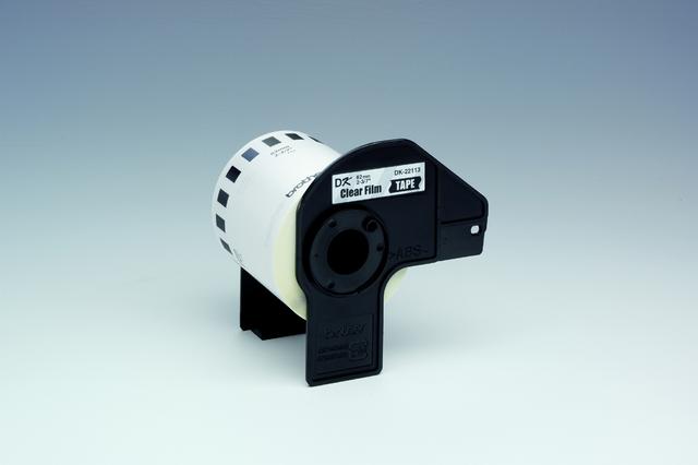 Etikett, Rolle, endlos, DK-22113, sk, Folie, 62mmx15,24m, farblos