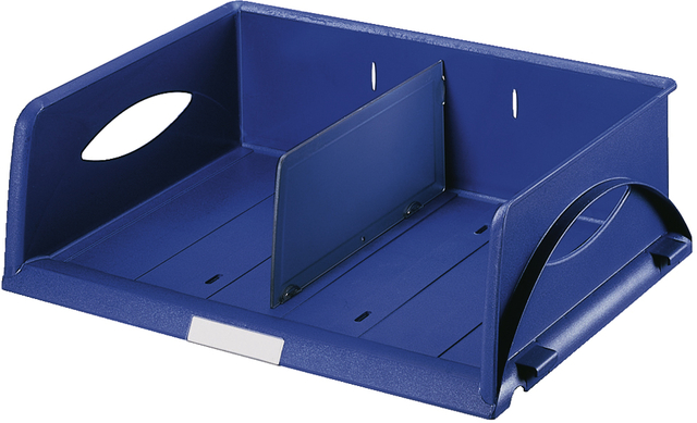 Briefkorb Sorty, PS, C4q, 405x300x125mm, blau