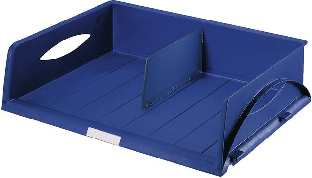 Briefkorb Sorty Jumbo, PS, A3q, 490x385x125mm, blau