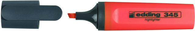 Textmarker 345, Keilspitze, 2 - 5 mm, Schreibf.: orange