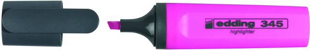 Textmarker 345, Keilspitze, 2 - 5 mm, Schreibf.: rosa