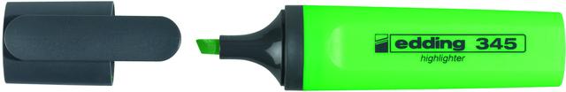 Textmarker 345, Keilspitze, 2 - 5 mm, Schreibf.: hellgrün