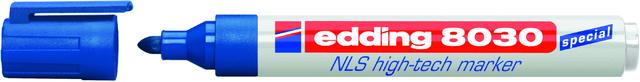Marker NLS high-tech, Einw., Rsp., 1,5-3 mm, Schreibf.: blau