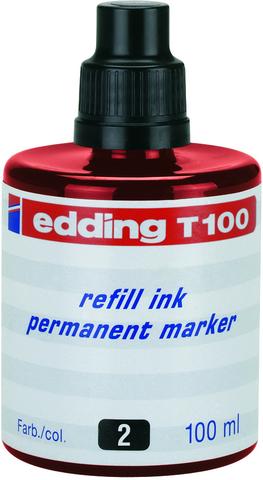 Nachfülltusche, für: Permanentmarker, Schreibf.: rot