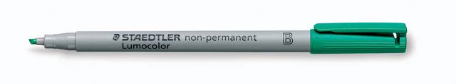 OH-Stift, Lumocolor® 312, B, non-perm., 1 - 2,5 mm, Schreibf.: grün