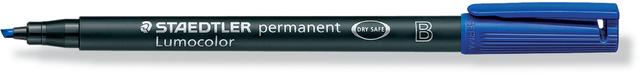 OH-Stift, Lumocolor® 314, B, perm., Ksp., 1-2,5 mm, Schreibf.: blau