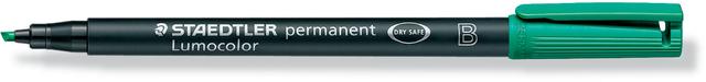 OH-Stift, Lumocolor® 314, B, perm., Ksp., 1-2,5 mm, Schreibf.: grün