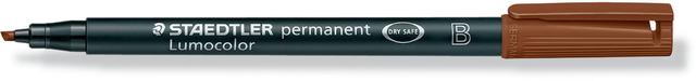 OH-Stift, Lumocolor® 314, B, perm., 1-2,5 mm, Schreibf.: braun