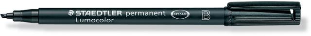 OH-Stift, Lumocolor® 314, B, perm., Ksp., 1-2,5 mm, Schreibf.: schwarz
