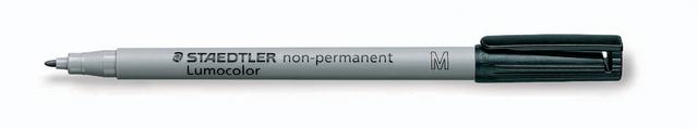 OH-Stift, Lumocolor® 315, M, non-perm., 1 mm, Schreibf.: schwarz
