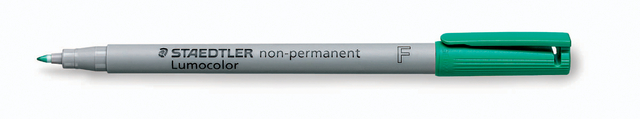 OH-Stift, Lumocolor® 316, F, non-perm., 0,6 mm, Schreibf.: grün
