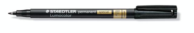 Permanentmarker 319 special, Rsp., F, 0,6mm, Schreibf.: schwarz