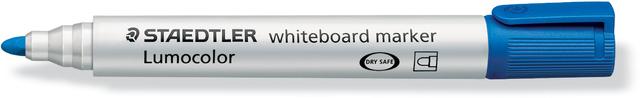 Boardmarker Lumocolor® 351, Rundspitze, 2 mm, Schreibf.: blau