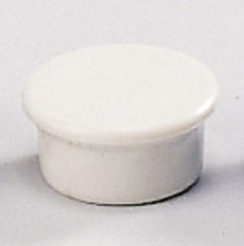 Magnet, rund, Ø: 13 mm, Haftkraft: 100 g, grau