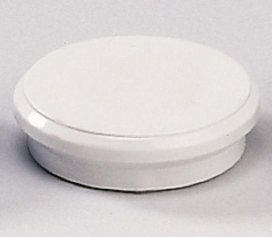 Magnet, rund, Ø: 24 mm, Haftkraft: 300 g, grau