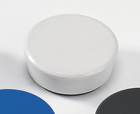 Magnet, rund, Ø: 38 mm, Haftkraft: 2.500 g, grau