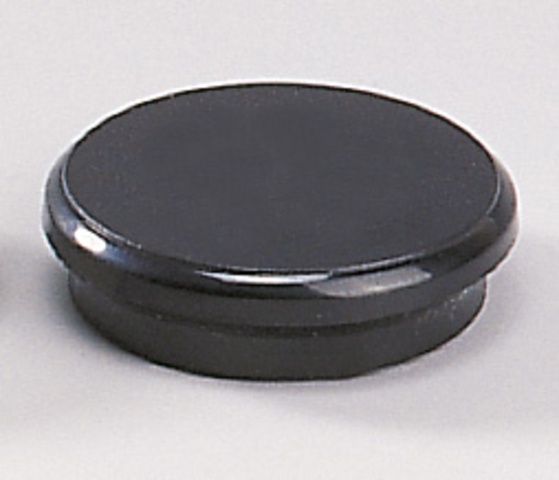Magnet, rund, Ø: 32 mm, Haftkraft: 800 g, schwarz