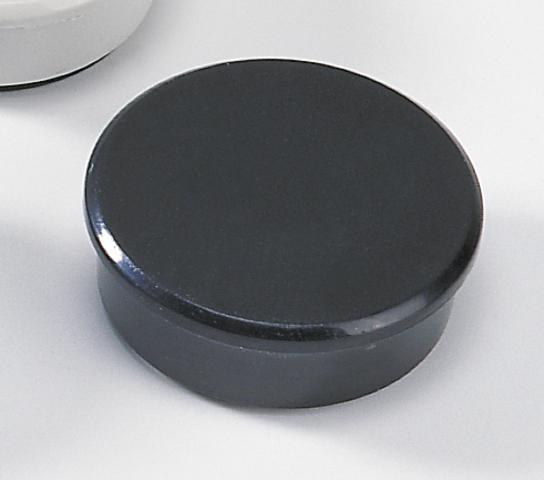 Magnet, rund, Ø: 38 mm, Haftkraft: 2.500 g, schwarz