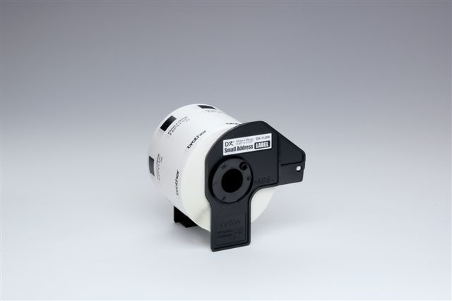 Etikett, Rolle, DK-11208, Adressen, sk, Papier, 90x38mm, weiß