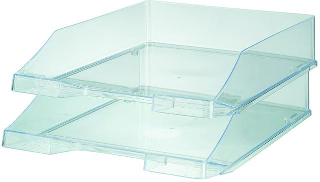 Briefkorb, PS, C4, 255x348x65mm, farblos, transparent
