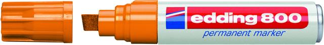 Permanentmarker 800, Keilspitze, 4 - 12 mm, Schreibf.: orange