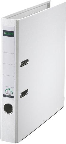 Ordner Plastik, PP-kasch., Einsteckrückenschild, A4, 52mm, weiß