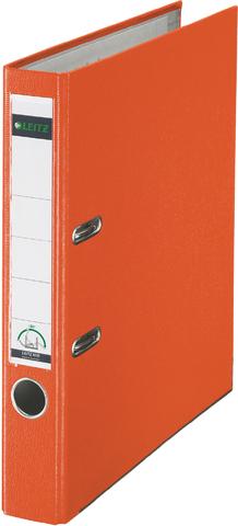 Ordner Plastik, PP-kasch., Einsteckrückenschild, A4, 52mm, orange
