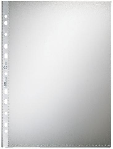 Prospekthülle, PP, A4, 0,07 mm, farblos, genarbt