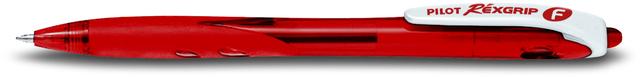 PILOT Kuli BEGREEN, RÉXGRIP BRG-10F, Druckmechanik, F, Schreibf.: rot