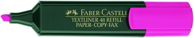 Textmarker 48 REF., Ksp., 1-5mm, Schaft: dkl.gn, Schreibf.: rosa