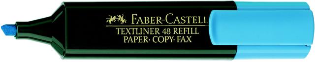 Textmarker 48 REF., Ksp., 1-5mm, Schaft: dkl.gn, Schreibf.: blau