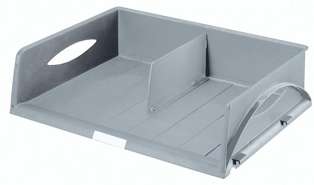 Briefkorb Sorty Jumbo, PS, A3q, 490x385x125mm, grau