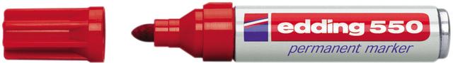 Permanentmarker 550, nachf., Rsp., 3-4mm, Schreibf.: ro