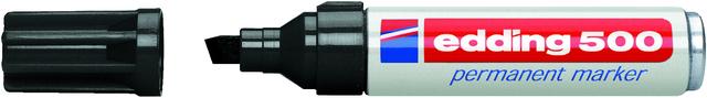 Permanentmarker 500, Keilspitze, 2 - 7 mm, Schreibf.: schwarz