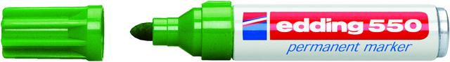Permanentmarker 550, nachf., Rsp., 3-4mm, Schreibf.: grün