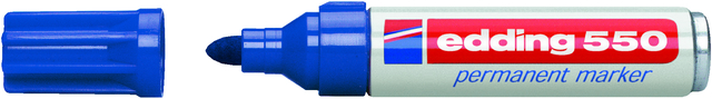 Permanentmarker 550, nachf., Rsp., 3-4mm, Schreibf.: blau