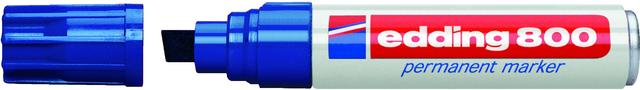 Permanentmarker 800, Keilspitze, 4 - 12 mm, Schreibf.: blau