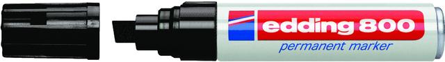 Permanentmarker 800, Keilspitze, 4 - 12 mm, Schreibf.: schwarz