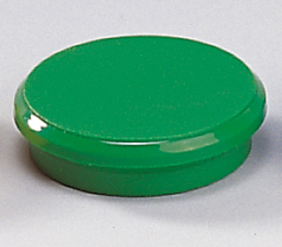 Magnet, rund, Ø: 32 mm, Haftkraft: 800 g, grün