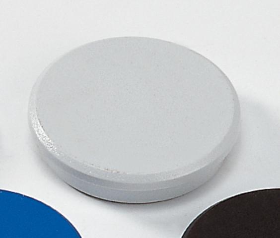 Magnet, rund, Ø: 32 mm, Haftkraft: 800 g, grau