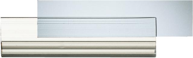 Beschriftungsfenster, für Stehsammler, 92x23mm, farbl., tr