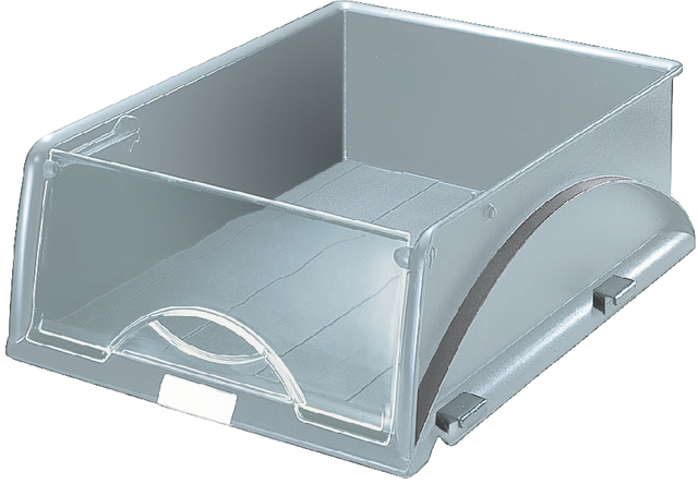 Briefkorb Sorty A4, Kst., A4, 285x385x125mm, grau