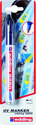 UV-Marker 8280, Einw., Rsp., 1,5-3 mm, Schreibf.: farbl.
