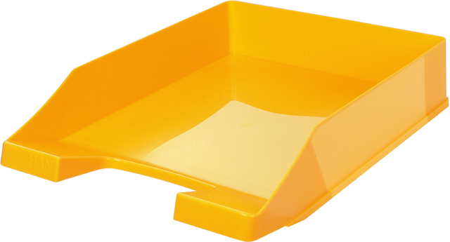 Briefkorb, PS, C4, 255 x 348 x 65 mm, gelb