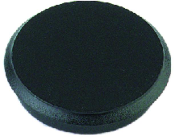 Magnet, rund, Ø: 13 mm, 7 mm, Haftkraft: 100 g, schwarz