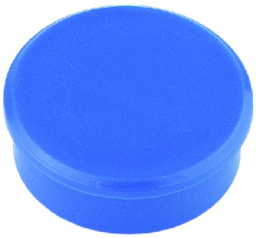Magnet, rund, Ø: 13 mm, 7 mm, Haftkraft: 100 g, blau