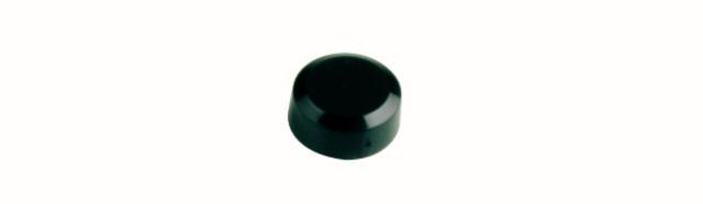 Magnet, rund, Ø: 15 mm, 7 mm, Haftkraft: 170 g, schwarz