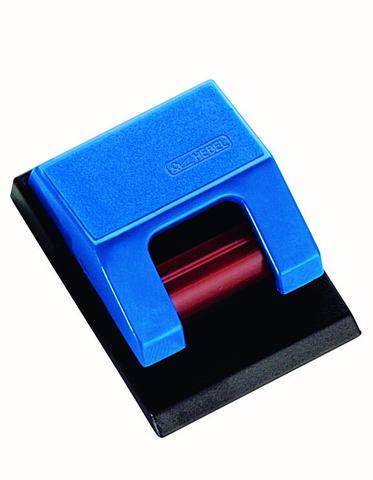 Zettelhalter Rollen-Klemmboy S, sk, 33x43mm, blau
