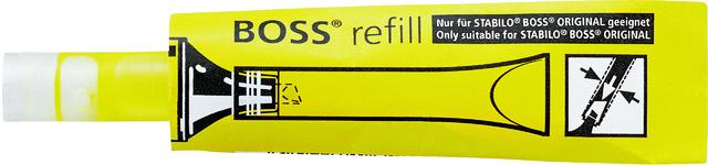 Nachfüllpatrone BOSS® Original, für: Textmarker, Schreibf.: gelb