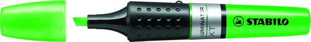 Textmarker LUMINATOR®, Keilspitze, 2 - 5 mm, Schreibf.: grün